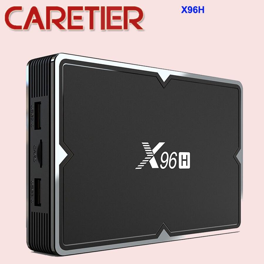 Smart-Top-Box Android-9.0 X96H Dual-Wifi 2GB 16GB 4GB 6k-Set Bluetooth Newest 32GB/64GB