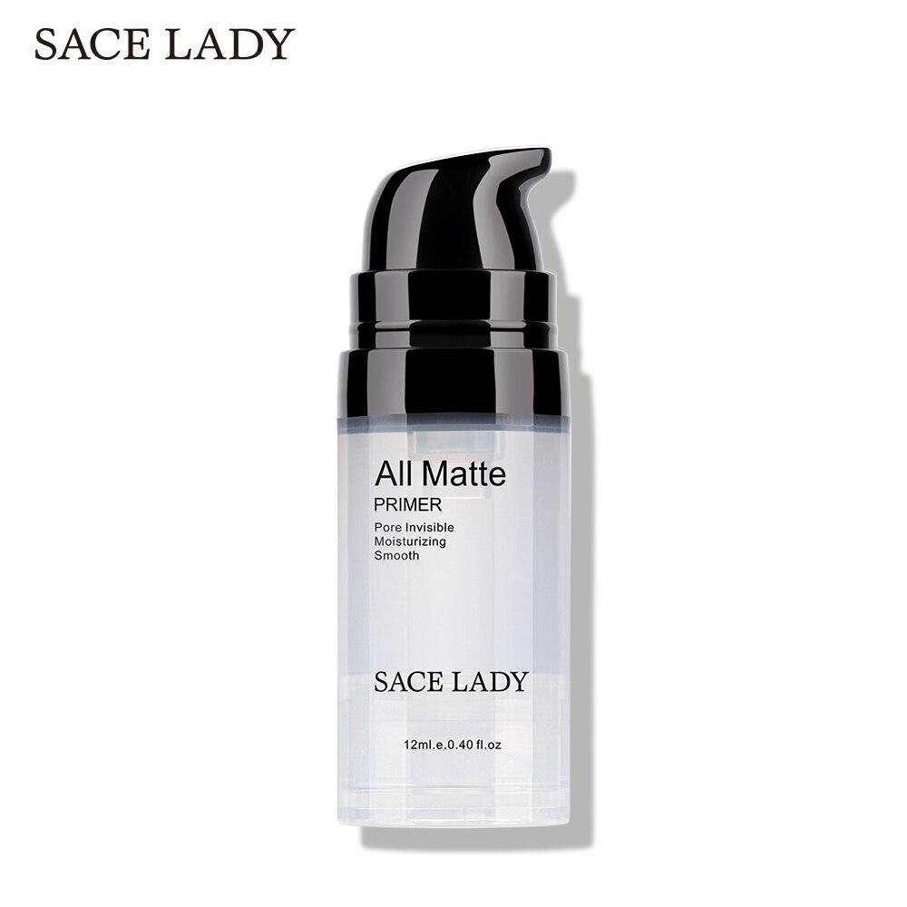 SACE LADY baza pod podkład do twarzy makijaż naturalny matowy makijaż fundacja podkład pory niewidoczny przedłużyć olejek do twarzy kontrola kosmetyczne 1