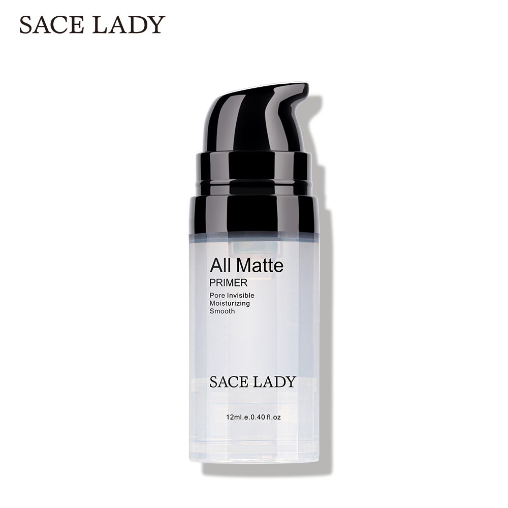 SACE LADY Face Primer Base Makeup Natural Matte Make Up Foundation Primer Pores Invisible Prolong Facial Oil-control Cosmetic