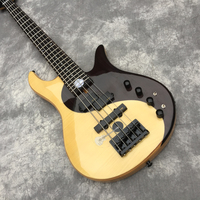 Custom shop custom electric guitar, the latest model of 2019, natural wood color, 5string bass, any color can be made.