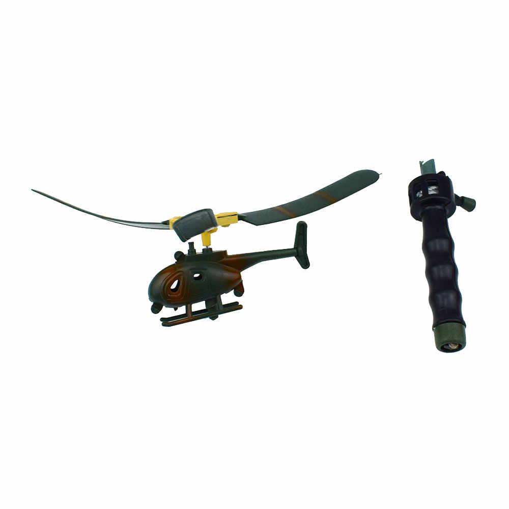 Penerbangan Model Helikopter Pegangan Pesawat Helikopter Anak Mainan Luar Ruangan untuk Anak-anak Bermain Drone Hari Anak Hadiah Pemula