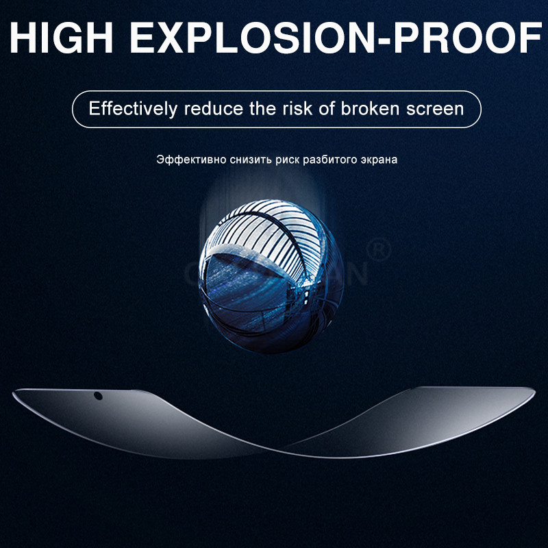 3Pcs Protective Hydrogel Film For Huawei P40 Lite P20 P30 Pro Mate 20 Lite P smart 2019 Nova 5T Screen Protector Film Not Glass 2