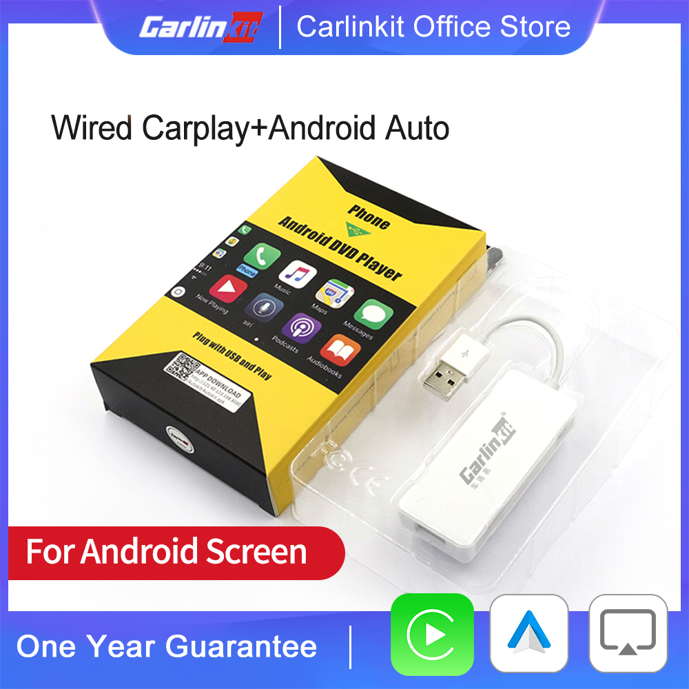 Carlinkit  for Apple CarPlay  Android Auto USB Smart Link Dongle for Android Navigation Player Mini USB Carplay Mirrolink