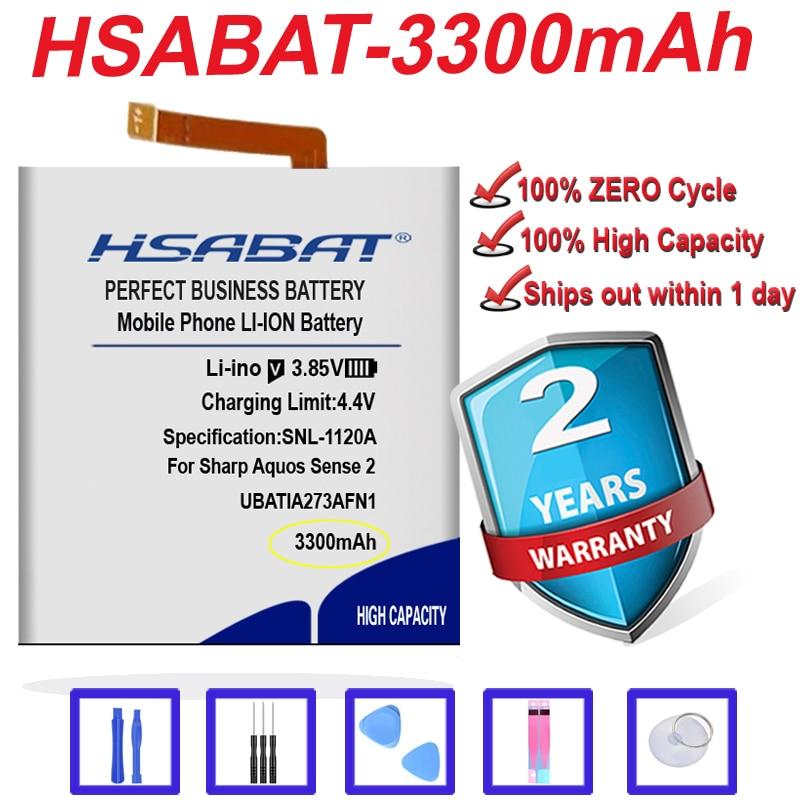 Топ бренд 100% Новинка 3300 мАч батарея UBATIA273AFN1 для Sharp Aquos Sense2 Sense 2 SH-O1L SH-M08 в наличии