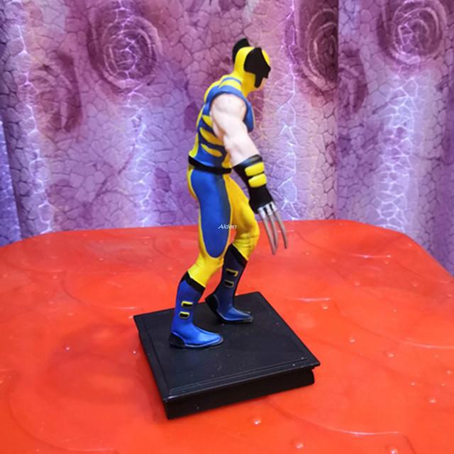 6″  X-Men Superhero Wolverine James Howlett The Avengers Logan Howlet Batman Resin Action Collectible Model Toy BOX 13CM Z2708