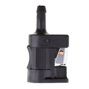 Image 3 - 6mm Femmina Connettore della Linea Del Carburante Laterale Del Motore Motore Fuoribordo Carburante Carburante Tubo di Linea di Plastica del Connettore per Yamaha motore fuoribordo 7 millimetri