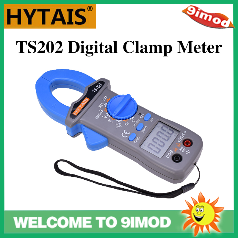 HYTAIS TS202 Digital Clamp Meter Multimeter Frequency NCV Resistor <font><b>Capacitor</b></font> Temperature Tester image