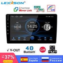 Universal 10 polegada/9 polegada 2din android 8.1 rádio do carro 1080p toque gps navegação bluetooth wifi swc dab fm am espelho ligação obd 2