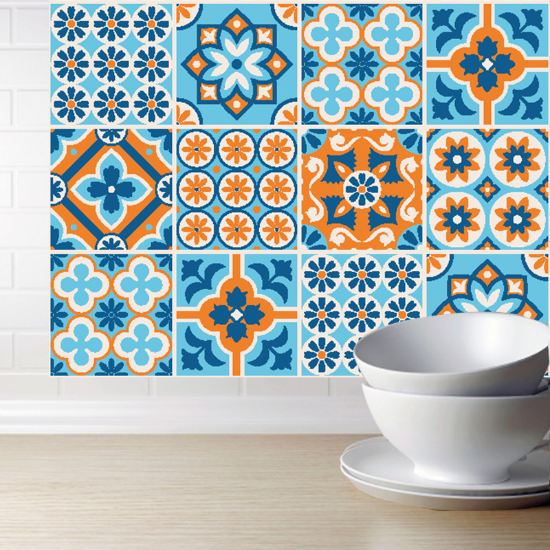 Pvc Tile Stickers Wall Art Decal