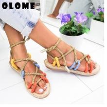 Women Sandals 2020 Fashion Summer Shoes Woman Flat