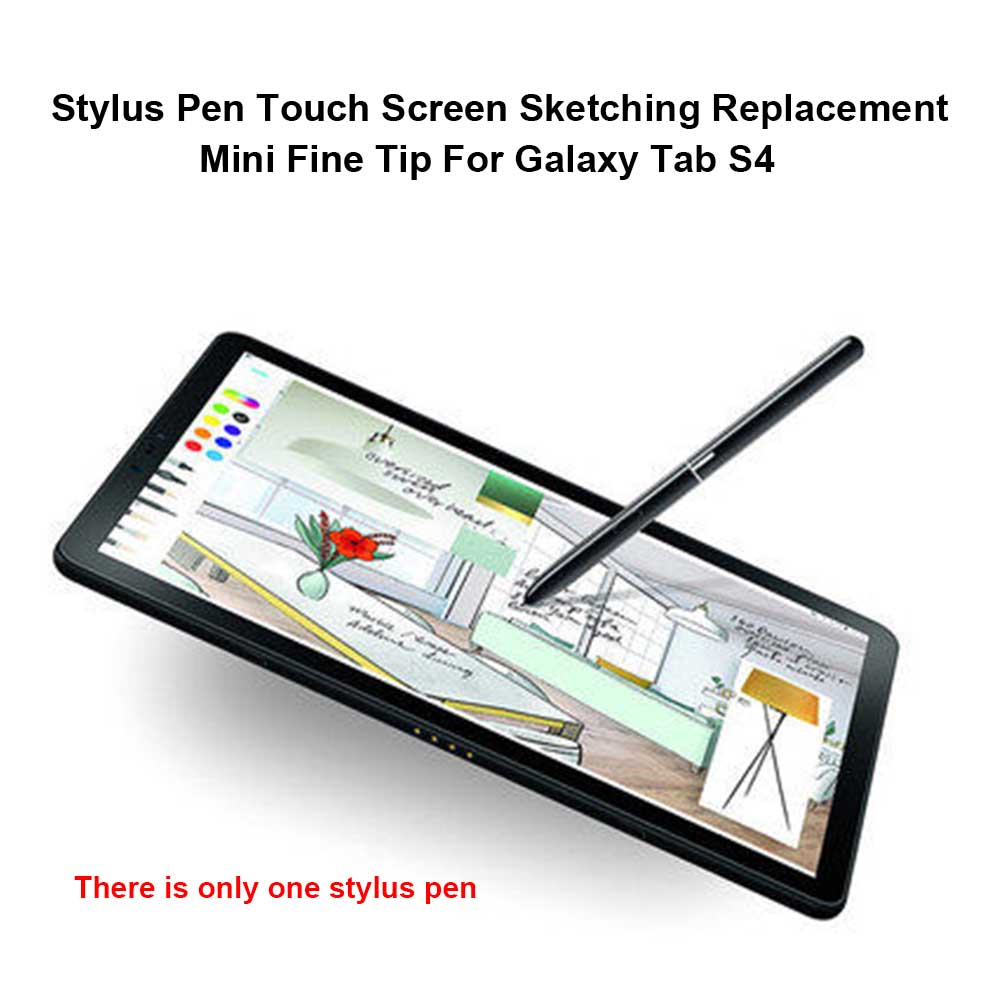 Office Replacement Touch Screen Fine Tip Tablet Smooth Writing Drawing Mini Sketching Stylus Pen Capacitive For Galaxy Tab S4
