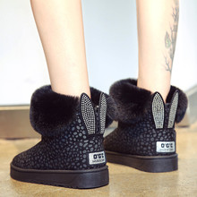 New 2019 Fashion Woman Short Boots Autumn Winter Slip-On Suede Ankle Boots Ladie