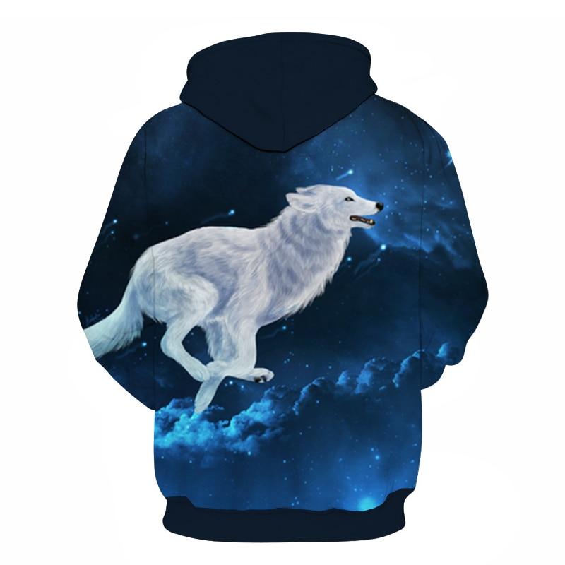 Wolf Printed Women 3d Hoodies Brand Sweatshirts Girl Boy Jackets Pullover Fashion Tracksuits Animal Streetwear Lovers Sweatshirt 92