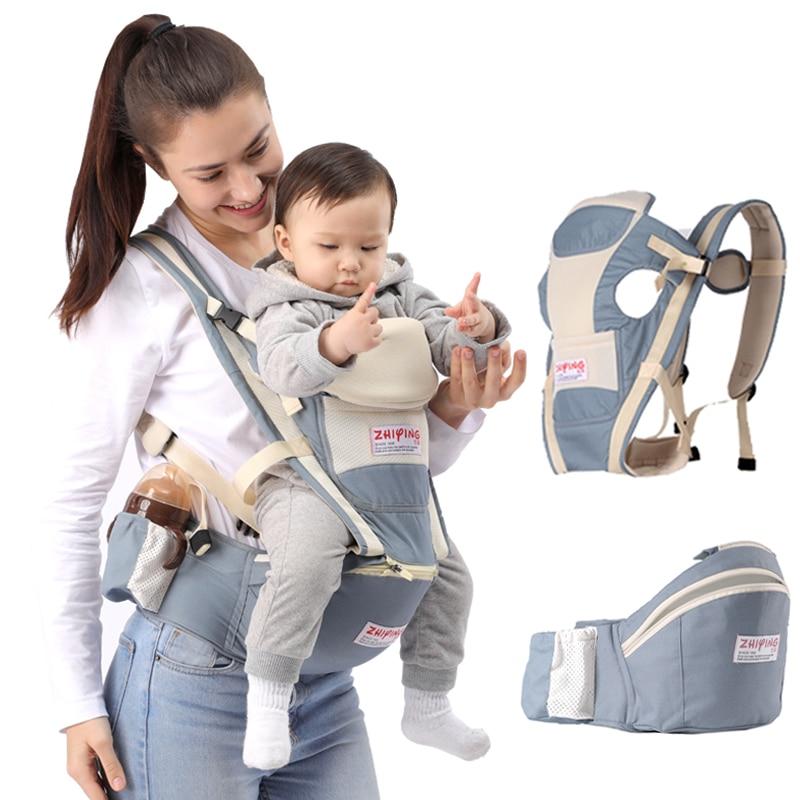 ergonomico portador de bebe mochila envoltorio transportadora para bebe cintura recem nascido hipseat ergonomico canguru transporte