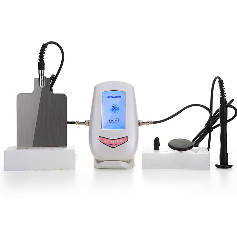 Mono Polar Capacitive RF RadioFrequency Facial Beauty Machine Eye Face Body Massager Skin Lift Tighten Anti-wrinkle Rejuvenation