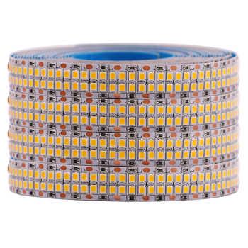 2835 Led Strip 480Leds/m String Lights SMD 12V 5M 2400Leds Double Row Flexible Led strip Tape Ribbon Project Ambilight Lights
