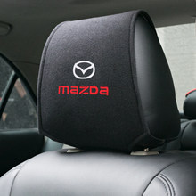 1 pièces housse d'appui-tête de voiture chaude pour Mazda 2 Mazda 3 MS pour Mazda 6 CX-5 CX5 accessoires de style de voiture
