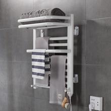 Intelligent Electric Heating Towel Rack Bathroom Bathroom Electric Heating Constant Temperature Carbon Fiber Drying Towel Rack