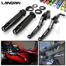 For Yamaha YZF R3 Motorcycle CNC Brake Clutch Lever & 7/8 22MM Handlebar Grips YZFR3 2014 2015 2016 2017 2018 YZF R3 Accessories still steds 8 18 r3 [03 2018] expire patch