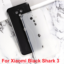 цена на For Xiaomi Black Shark 3 Silicon Case Soft TPU Mobile Phone Back Case Cover For Black Shark 3 Funda Capa Protective Cover Coque