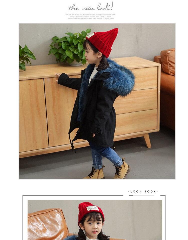 girls fur coat