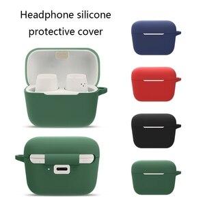 Image 3 - Escudo de silicone capa protetora escudo anti queda fone de ouvido caso para S ENNHEISER cx400bt sem fio bluetooth fones de ouvido