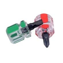 1 шт. Набор отверток, маленький портативный шуруповерт с редиской, прозрачная ручка для ремонта, ручные инструменты для ремонта автомобиля