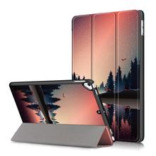 Para iPad 7 generación funda Smart Sleep Wake up PU Funda de cuero para iPad 10,2 pulgadas 2019 y Air 3 y Pro 10,5 funda 2017