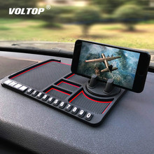 Car Anti-Slip Mats Accessories Multifunctional Magic Pad Anti-skid Pad for Mobile Phone Navigation Creative Stop Sign car supplies mobile phone anti skid pad silicone pu round anti skid pad for mobile phones keys glasses car gadget other