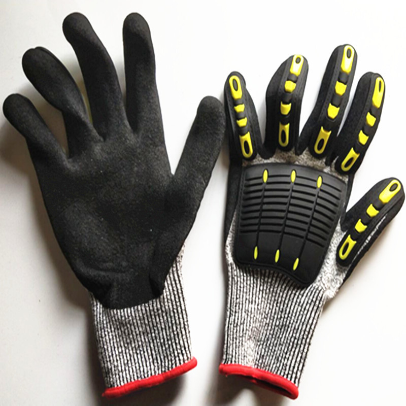 Currently Available Supply Anticollision Shock Cut-Resistant Velcro Protective Gloves Sports Anti-slip Anti-Fall Injuries Gloves