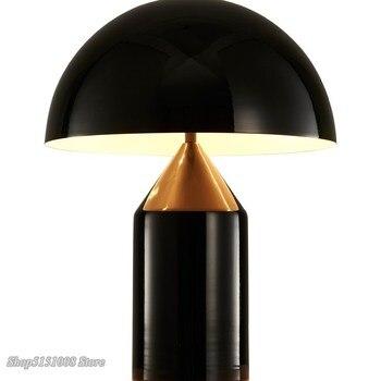 Modern Mushroom Desk Lamp Italy Designer LED Table Lamp for Living Room Bedroom Study Room Table Lights Home Decor Desk Lamps