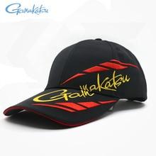 Gamakatsu рыболовные шляпы солнцезащитный козырек анти-УФ головной убор для мужчин Открытый Кемпинг Пешие прогулки Бейсбол Спорт Гольф Бег дышащие кепки