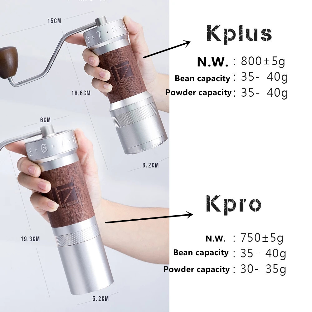 Image 3 - 1 pc New 1zpresso K pro k burr super portable coffee grinder coffee mill grinding super manual coffee bearing recommedElectric Coffee Grinders   -