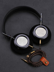 Hifi Headphone Monitors Housing Wired Audio Earpads Open-Back Over-Ear Music Comfortable