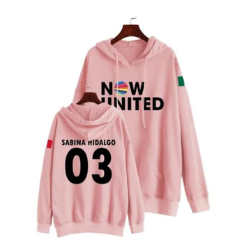 Now United Oversized Women/Men Hoodie Sweatshirt Sabina Hidalgo 03 Pullover Hooded Jacket Unisex Harajuku Tracksuit Kpop Clothes image