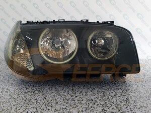 Image 4 - Eccellente COB Ultra luminoso ha condotto angel eyes kit halo anelli di stile Auto Per BMW E83 X3 2003 2004 2005 2006 pre facelift del faro