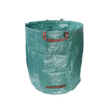Economical 272L Garden Waste Bag Reuseable Leaf Grass Lawn Pool Gardening Bags ds99(China)
