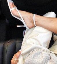 Females Square Head Open Toe Clip-On Strappy Sandals