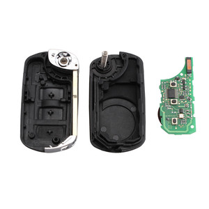 Image 4 - KEYYOU 433MHz 3 przyciski odwróć składany zdalnie sterowany klucz pilot z kluczykiem samochodowym dla RANGE ROVER Sport Land Rover Discovery 3