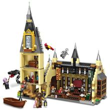 843pcs Harry  Serices  Great Hall Compatibie Legoings Building Blocks Toy Kit DIY Educational Children Christmas  Gifts 335 electronics discovery kit smart electronics block kit educational science kit toy diy building blocks electric circuits kit