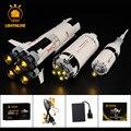 Набор осветительных приборов для строительных блоков Apollo Saturn V, совместимый с 21309