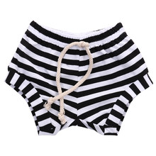 Infant Baby Boys Girls Summer Striped Bottoms Bloomers Hot Pants Shorts beach Briefs Sportswear(China)