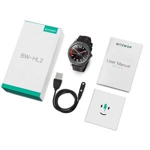 Image 5 - BlitzWolf BW HL2 1.3 אינץ מלא עגול מגע מסך קצב לב לחץ דם צג בהירות בקרת 50 שפה חכם שעון