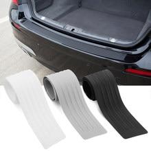 Protecteur de pare-chocs arrière de voiture, autocollant en caoutchouc pour kia cerato Stinger rio ceed Sorento Cerato Forte optima soul k3 k5
