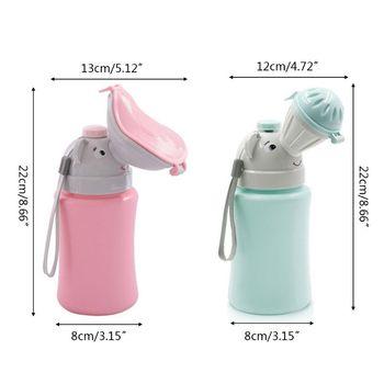 500ML Baby Portable Urinal Toilet Boy Girl Cars Travel Supplies Potty Training E65D 5