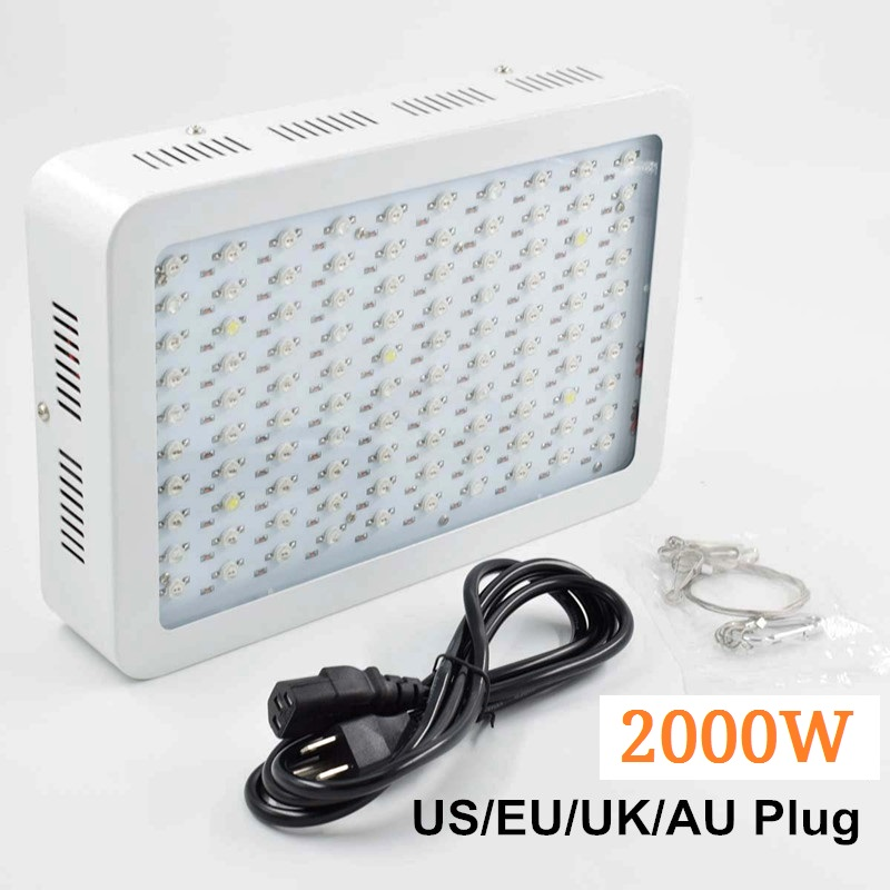 Growing Lamps LED Grow Light 2000W AC85-265V Full Spectrum Plant Lighting Fitolampy For Plants Flowers Seedling Cultivation