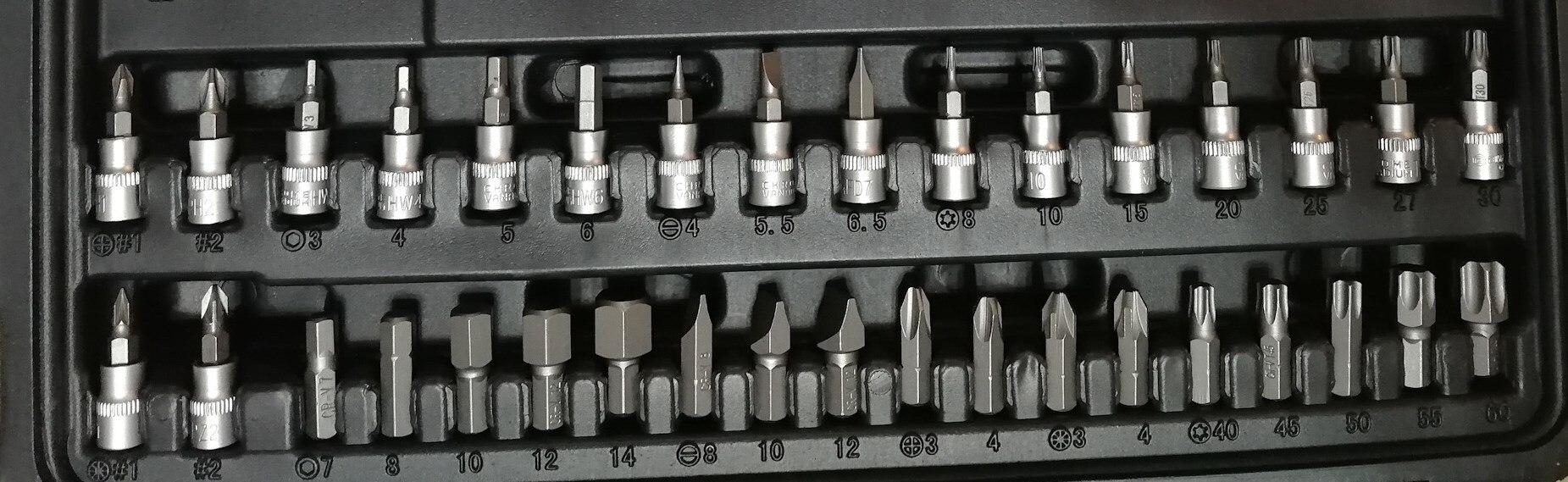 Набор инструмента 108 предметов СЕРВИС КЛЮЧ 71108 - 6