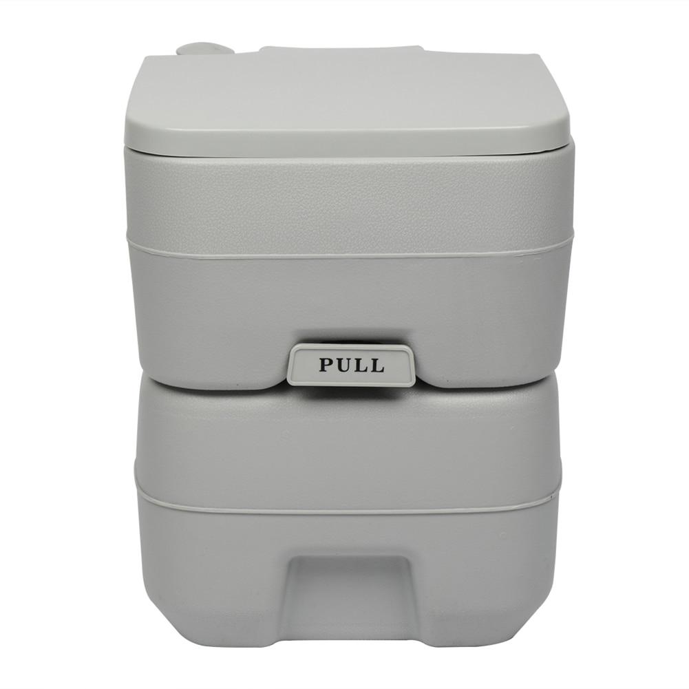 20L Plastic Double Outlet Portable Flush Toilet 1