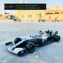 Bburago 1:43 Mercedes-Benz Team  Lewis Hamilton  W10-44 SF90 RB  F1 Racing Formula Car Static Simulation Diecast Alloy Model Car