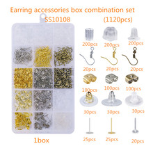 SS10108 1200PCS Earring accessories box combin accessories 15 grid DIY handmade jewelry accessories combination accessories set